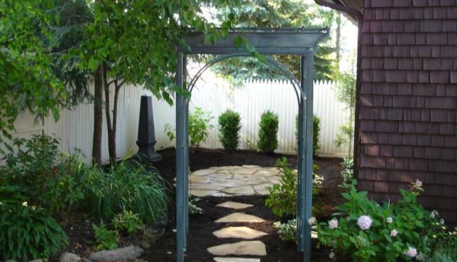 Blue Stone Patio Sanctuary