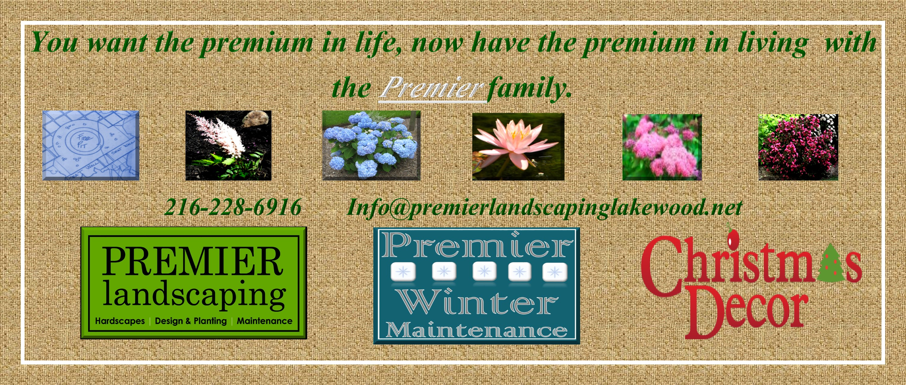 Landscaping, Winter Maintenance & Christmas Decor