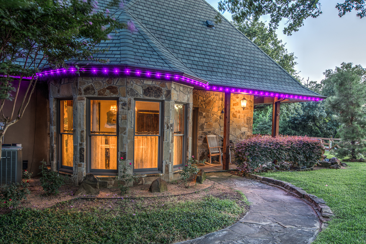 Residential Inception Lighting - Breakfast Purple